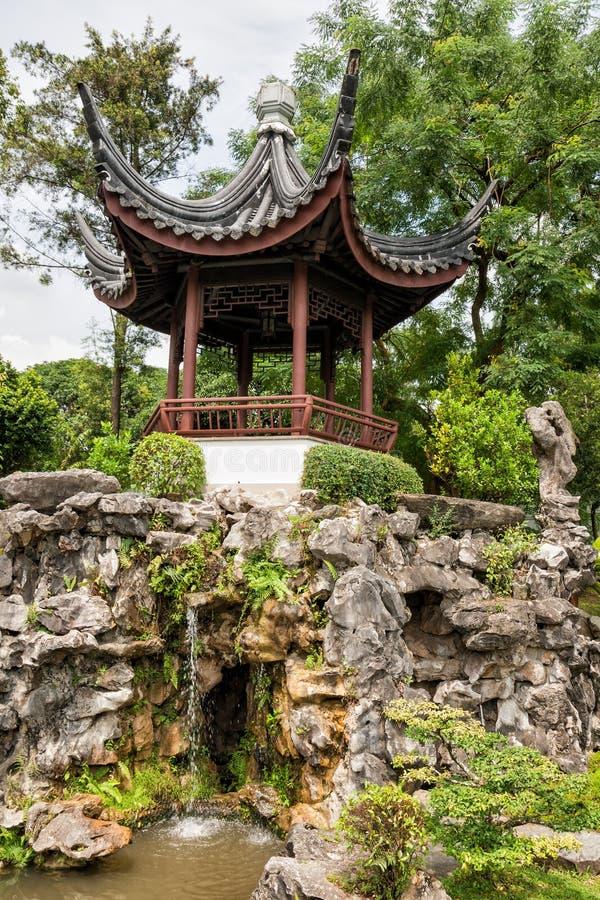 κινεζικός κήπος Σινγκαπ&om στοκ φωτογραφίες με δικαίωμα ελεύθερης χρήσης