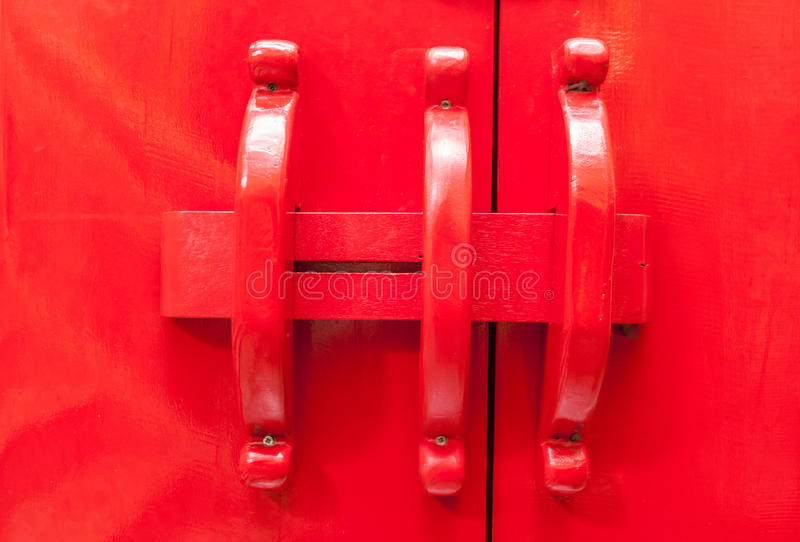 κινεζικός κόκκινος ξύλιν&o στοκ φωτογραφία
