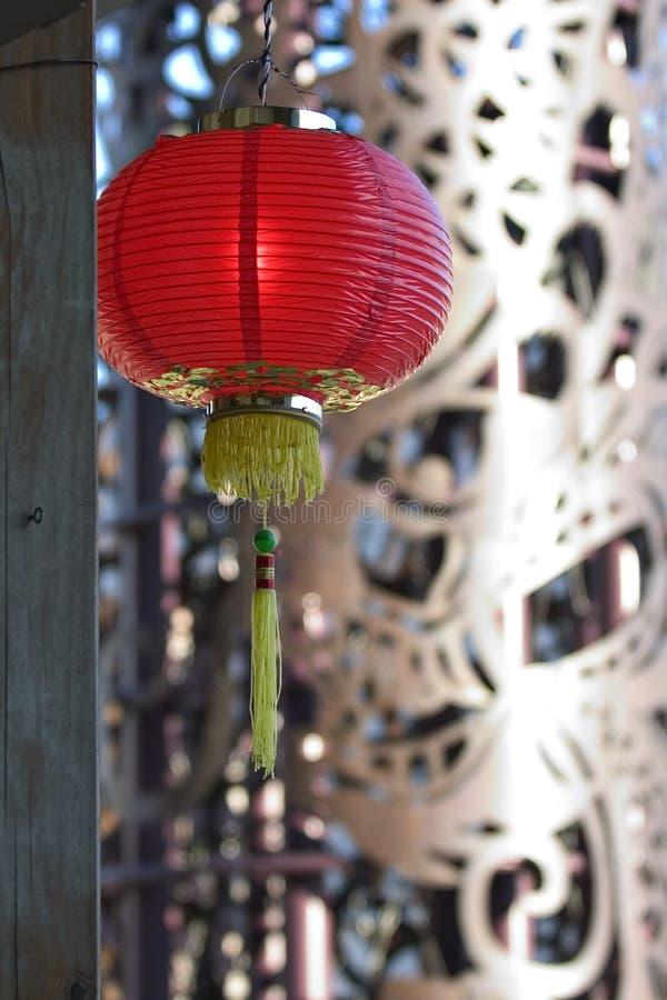 κινεζικός λαμπτήρας στοκ εικόνα