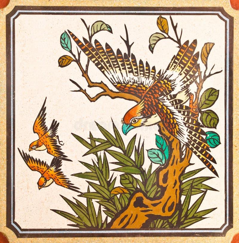 κινεζικός μαρμάρινος τοίχ& στοκ φωτογραφία
