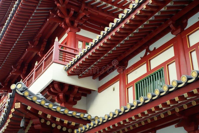 κινεζικός ναός εμφάνισης στοκ εικόνες με δικαίωμα ελεύθερης χρήσης