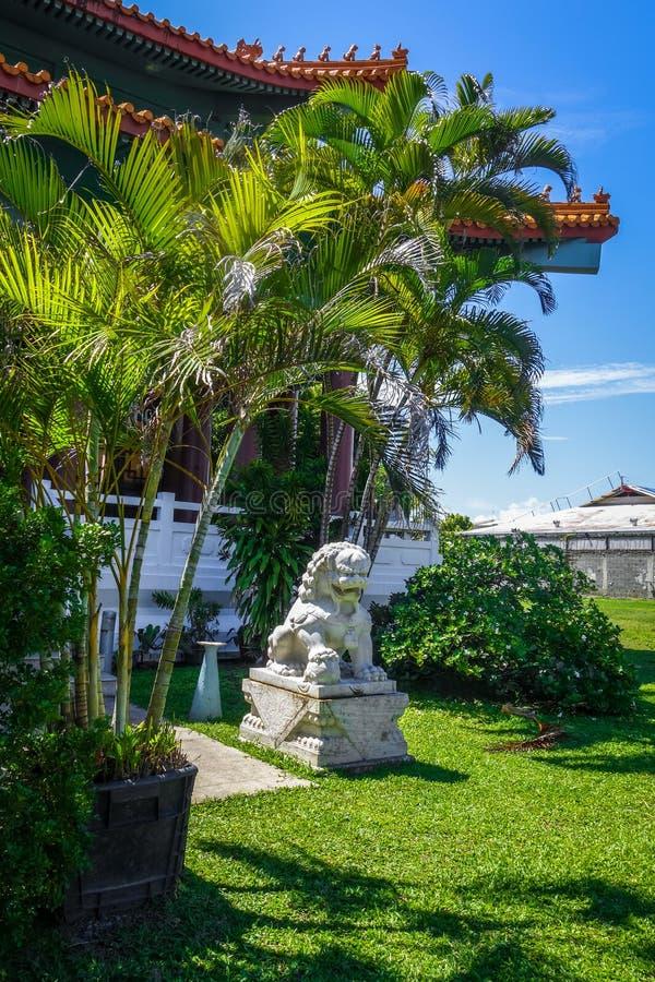 Κινεζικός ναός σε Papeete στο νησί της Ταϊτή στοκ εικόνα με δικαίωμα ελεύθερης χρήσης