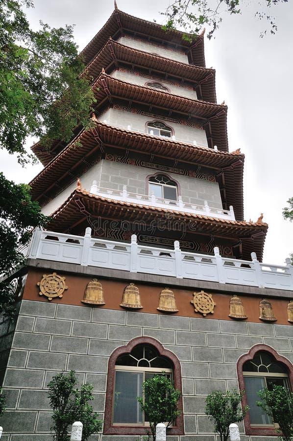 κινεζικός ναός της Ταϊβάν παγοδών στοκ φωτογραφίες