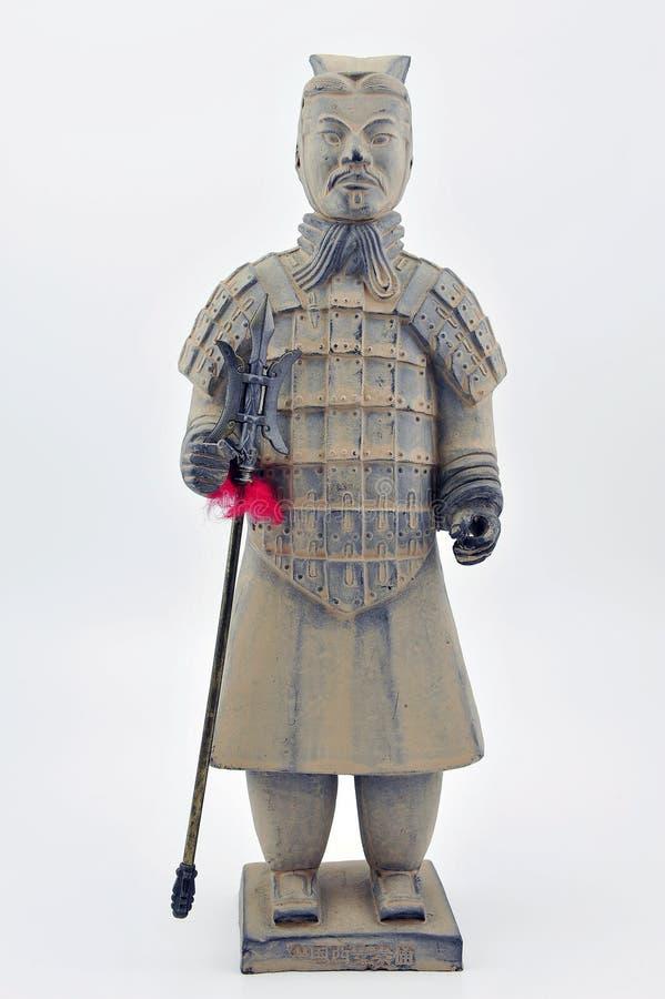 Κινεζικός πολεμιστής στοκ φωτογραφίες