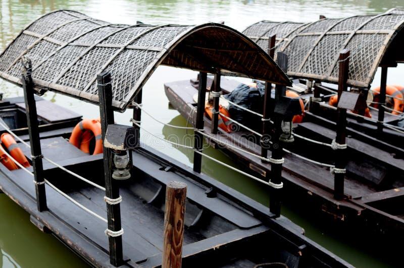 κινεζικός sampan στοκ εικόνες με δικαίωμα ελεύθερης χρήσης