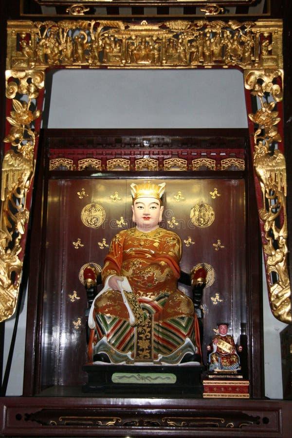 κινεζικό άγαλμα Θεών στοκ εικόνες με δικαίωμα ελεύθερης χρήσης