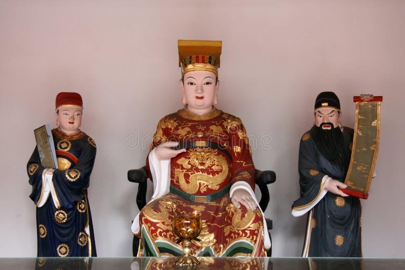 κινεζικό άγαλμα Θεών στοκ φωτογραφία με δικαίωμα ελεύθερης χρήσης