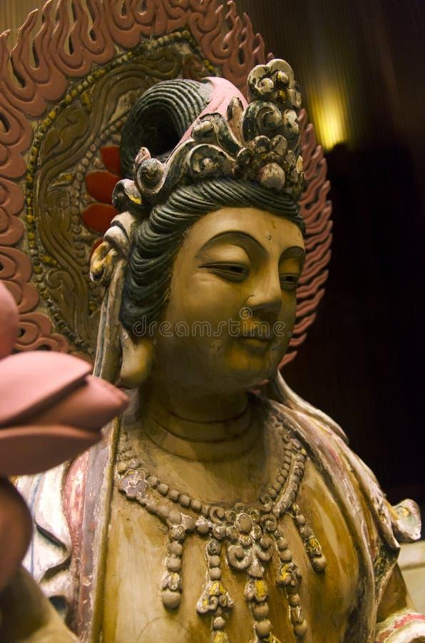 Κινεζικό ανάστημα Guanyin Bodhisatva στοκ φωτογραφία με δικαίωμα ελεύθερης χρήσης