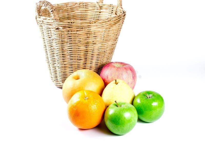 Κινεζικό αχλάδι, μήλο, πορτοκάλι στοκ φωτογραφία