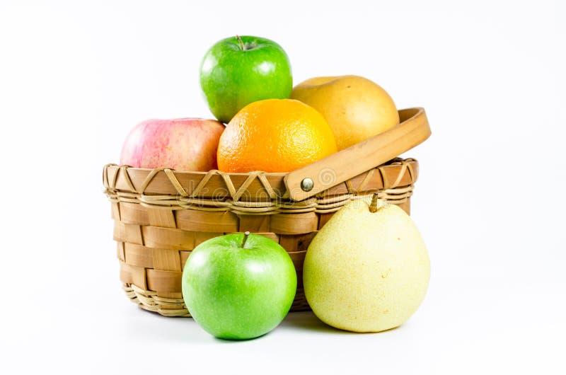 Κινεζικό αχλάδι, μήλο, πορτοκάλι στοκ φωτογραφίες με δικαίωμα ελεύθερης χρήσης