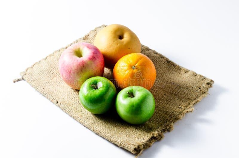 Κινεζικό αχλάδι, μήλο, πορτοκάλι στοκ φωτογραφία με δικαίωμα ελεύθερης χρήσης