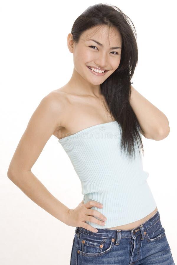 κινεζικό κορίτσι 2 στοκ φωτογραφία με δικαίωμα ελεύθερης χρήσης