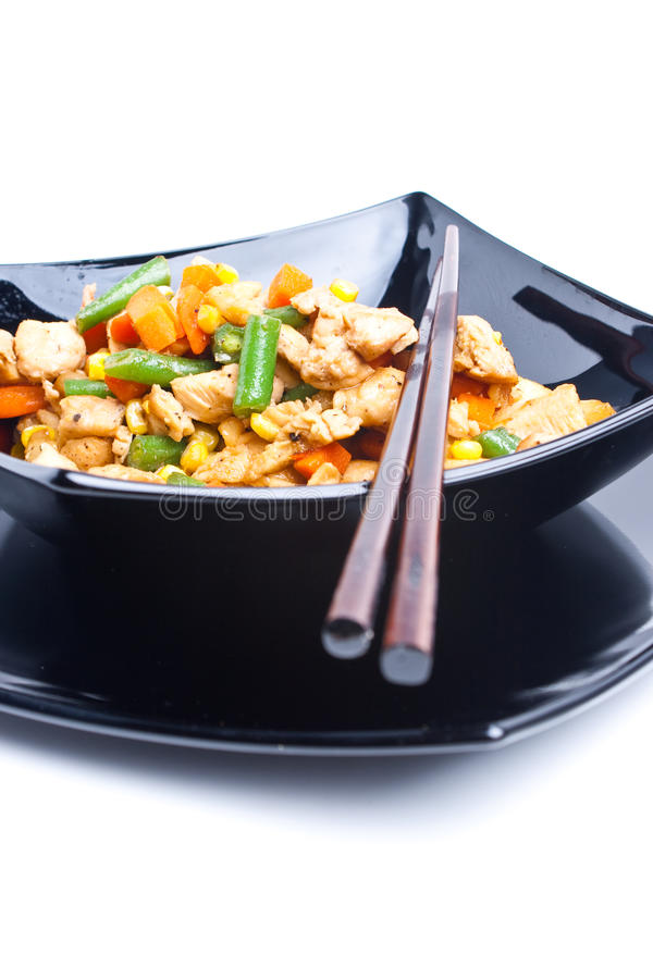 Κινεζικό κοτόπουλο στοκ φωτογραφίες με δικαίωμα ελεύθερης χρήσης