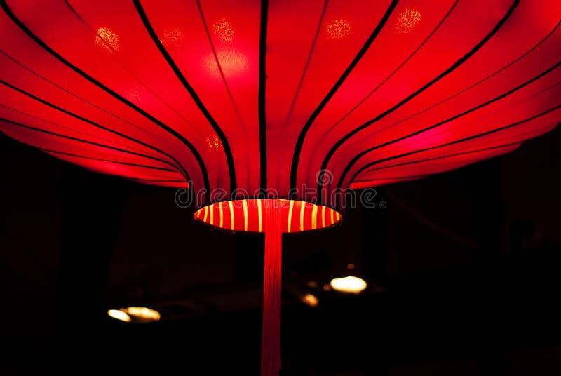 Κινεζικό κόκκινο φανάρι στοκ εικόνα με δικαίωμα ελεύθερης χρήσης