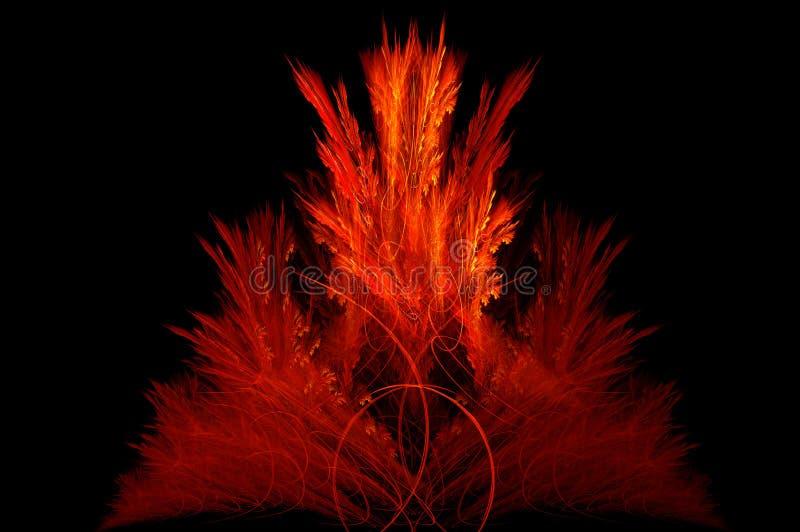 κινεζικό μυστικό κόκκινο & διανυσματική απεικόνιση