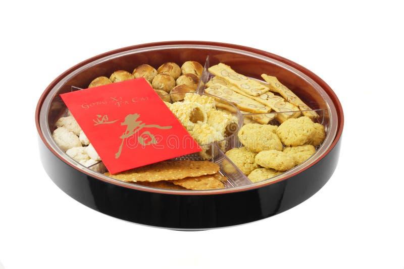 κινεζικό νέο έτος μπισκότω&nu στοκ εικόνα με δικαίωμα ελεύθερης χρήσης