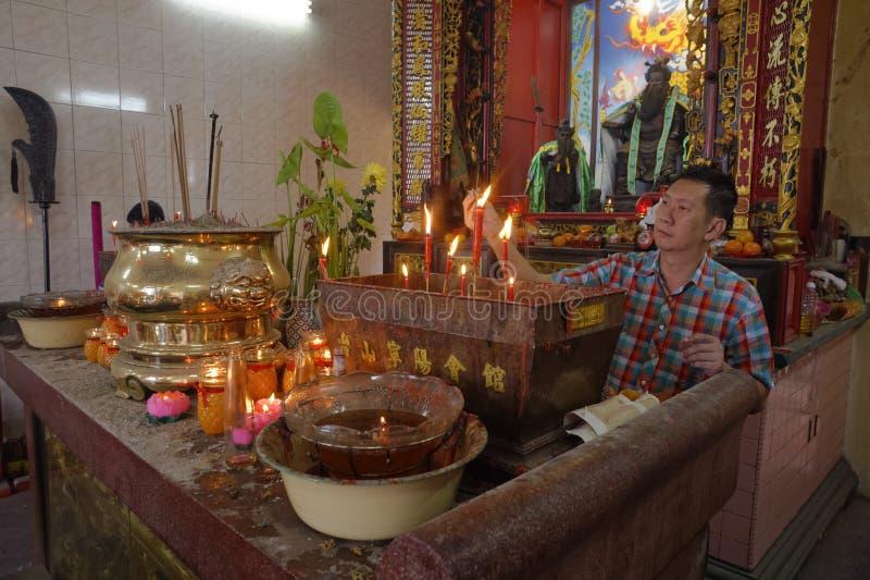 Κινεζικό νέο έτος της Μαλαισίας Penang Τζωρτζτάουν στοκ φωτογραφία με δικαίωμα ελεύθερης χρήσης
