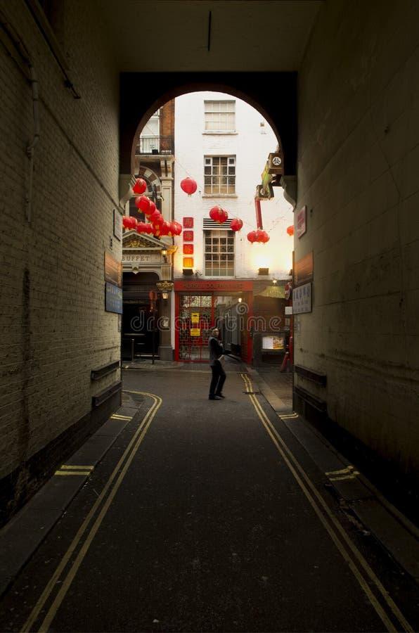 Κινεζικό νέο έτος του Λονδίνου στοκ φωτογραφίες