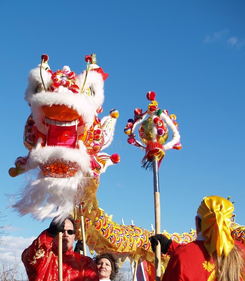 κινεζικό νέο έτος performace στοκ φωτογραφίες με δικαίωμα ελεύθερης χρήσης
