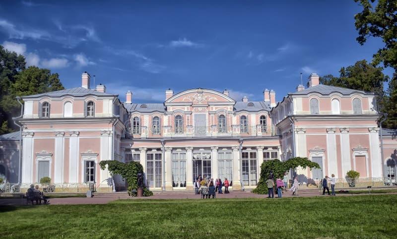 Κινεζικό παλάτι στο πάρκο Oranienbaum (Lomonosov) στοκ φωτογραφία με δικαίωμα ελεύθερης χρήσης