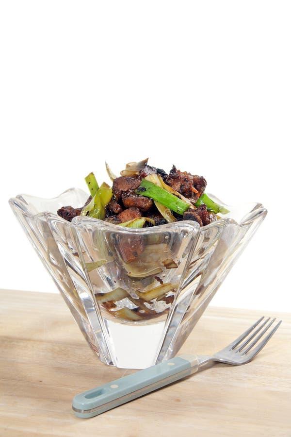 κινεζικό πιάτο κρυστάλλ&omicro στοκ εικόνα