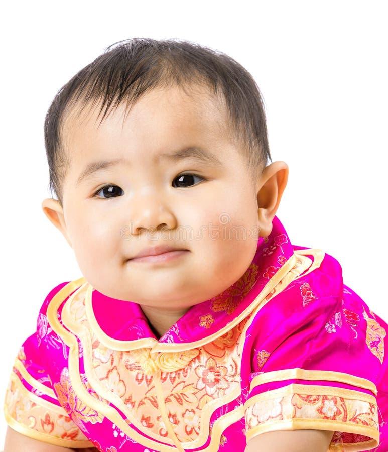 Κινεζικό πορτρέτο μωρών στοκ φωτογραφίες με δικαίωμα ελεύθερης χρήσης
