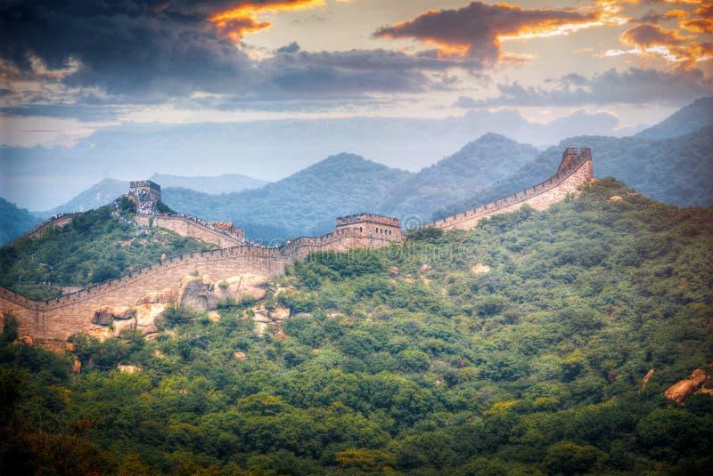 κινεζικό Σινικό Τείχος στοκ φωτογραφίες