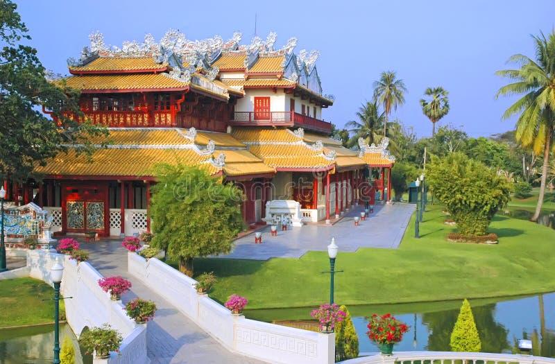 Download κινεζικό σπίτι στοκ εικόνες. εικόνα από διακόσμηση, βασιλικός - 13176942
