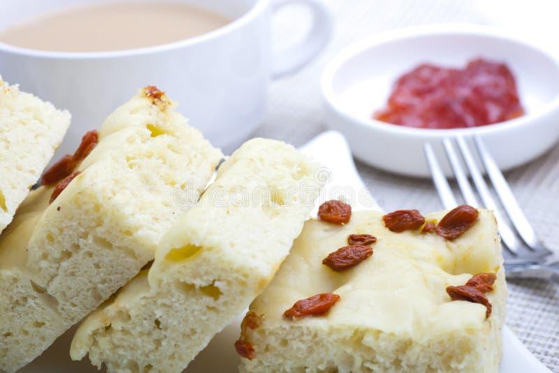 κινεζικό σφουγγάρι τροφίμων κέικ στοκ εικόνες