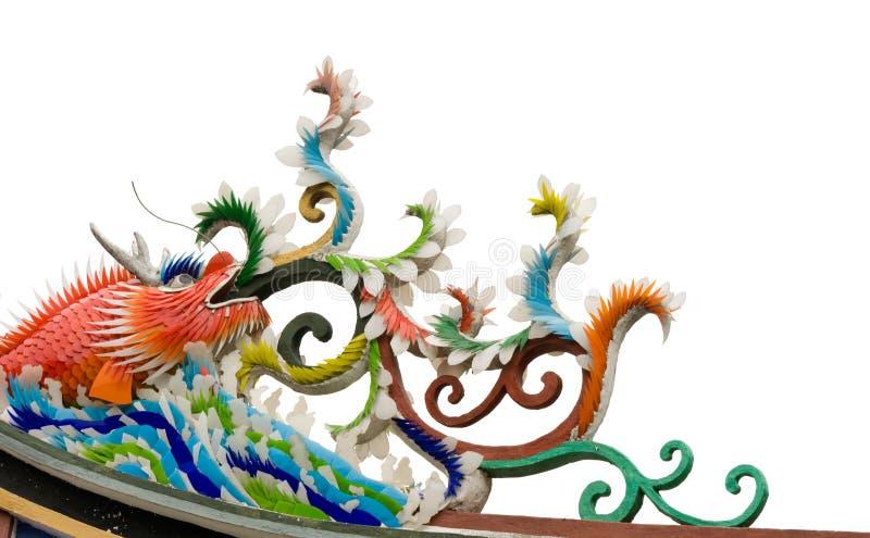 κινεζικό τέρας ψαριών χρώματ στοκ φωτογραφία με δικαίωμα ελεύθερης χρήσης