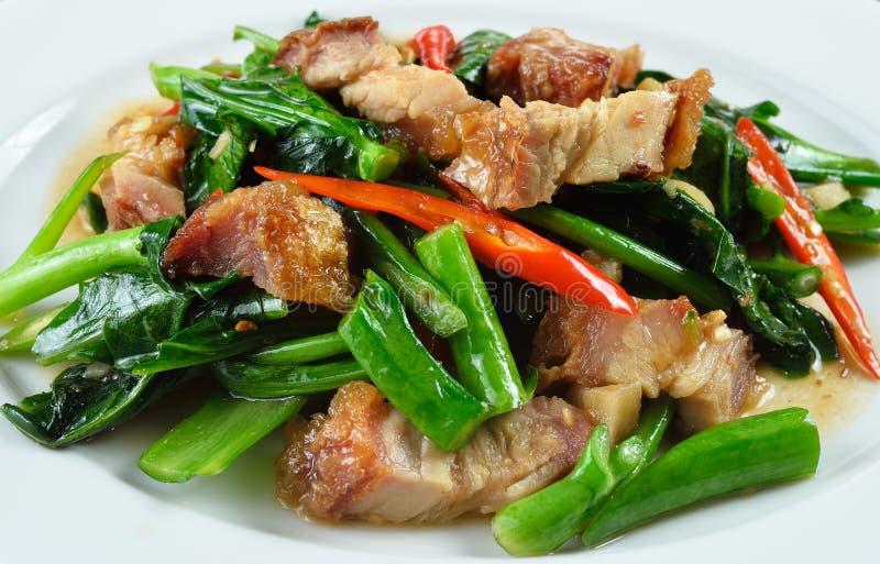 κινεζικό τριζάτο τηγανισμ στοκ εικόνα με δικαίωμα ελεύθερης χρήσης