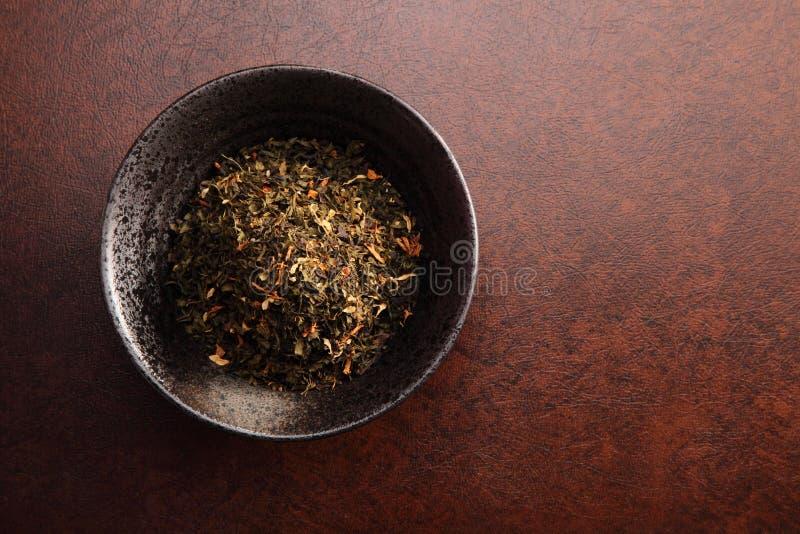 Κινεζικό τσάι με το υπόβαθρο στοκ φωτογραφίες με δικαίωμα ελεύθερης χρήσης