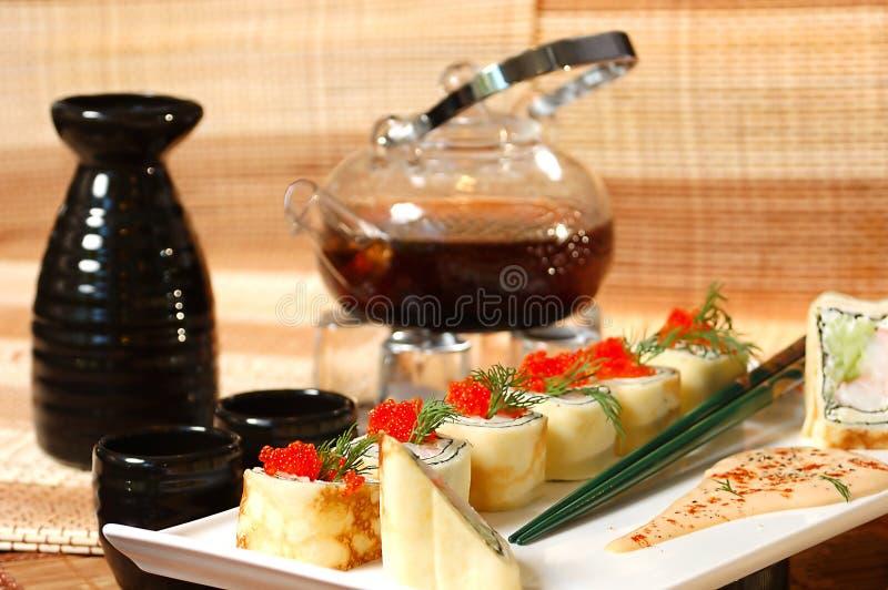 κινεζικό τσάι σουσιών στοκ φωτογραφία με δικαίωμα ελεύθερης χρήσης