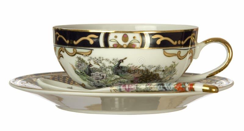 κινεζικό τσάι φλυτζανιών στοκ εικόνες