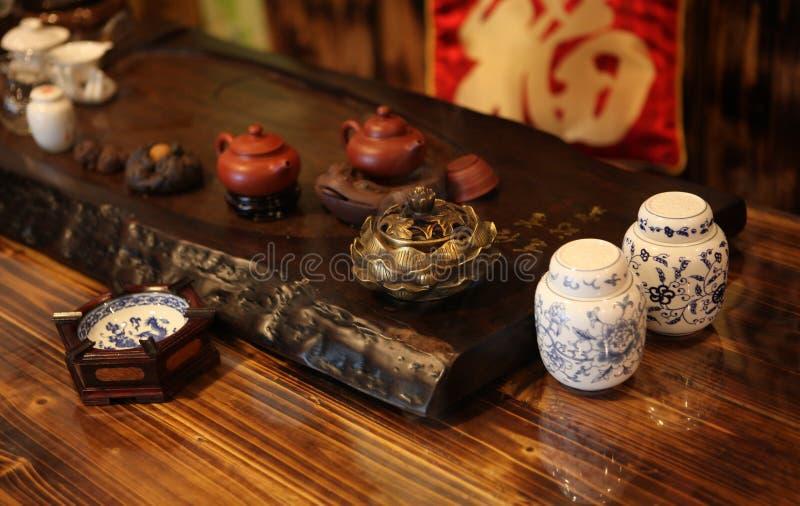 κινεζικό τσάι στοκ εικόνες