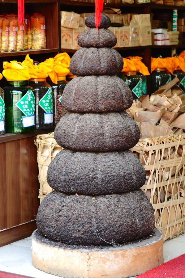 Κινεζικό τσάι Puer (PU -PU-erh) στοκ φωτογραφία
