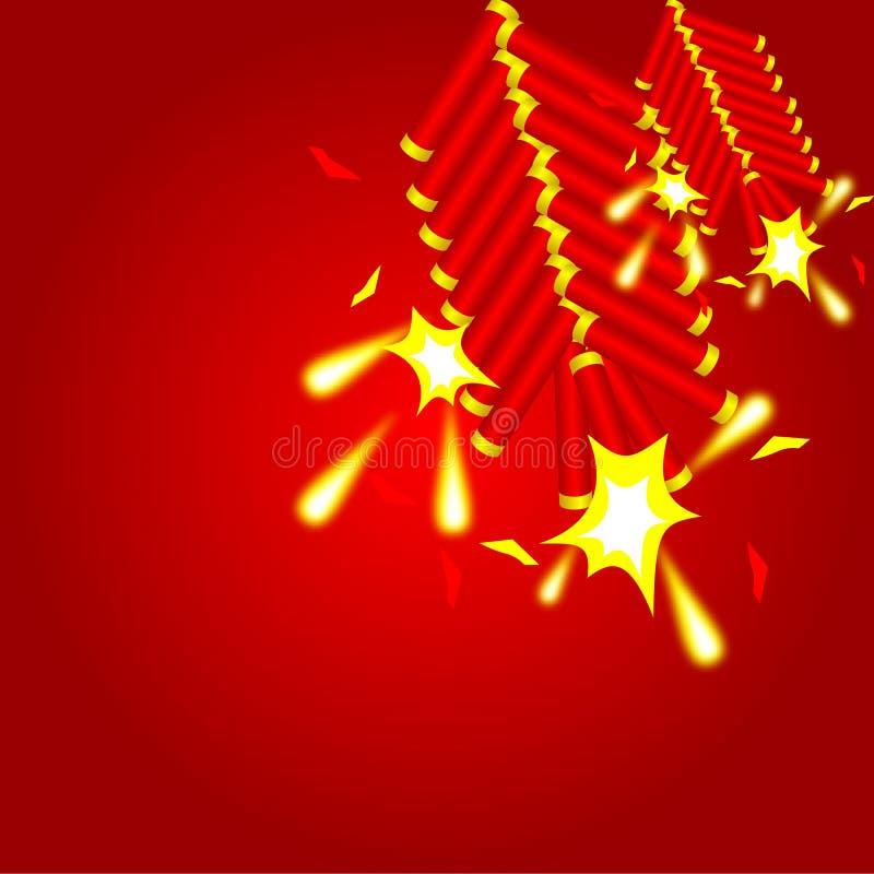 Κινεζικό υπόβαθρο κροτίδων στοκ φωτογραφίες