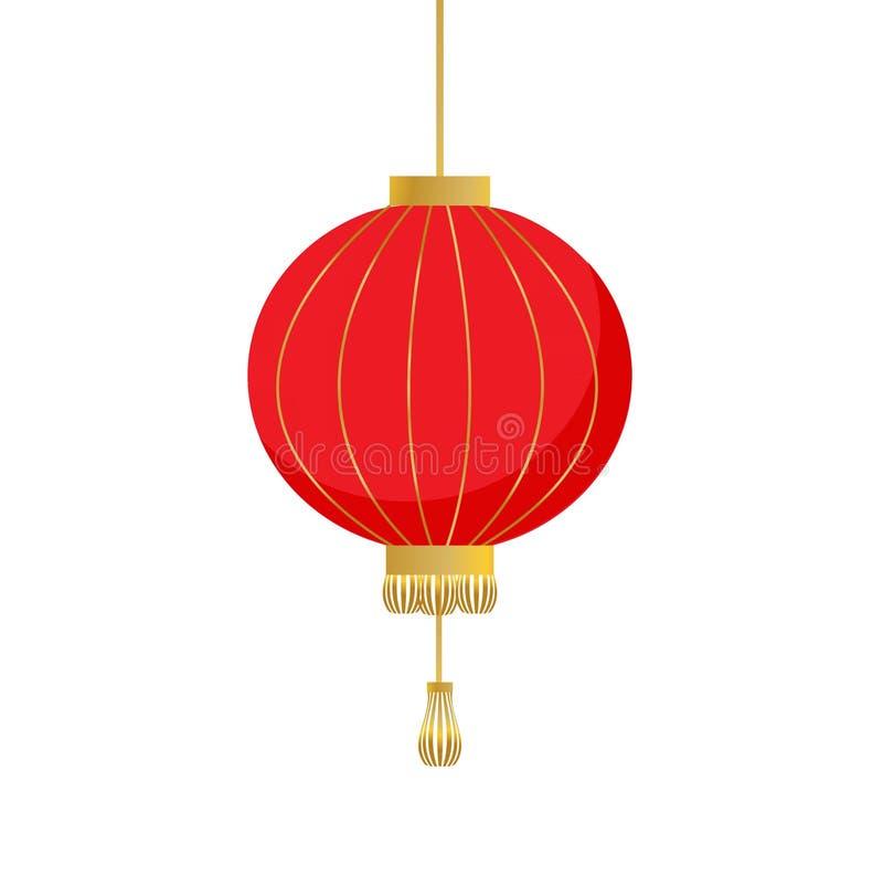 κινεζικό φανάρι παραδοσι&a απεικόνιση αποθεμάτων