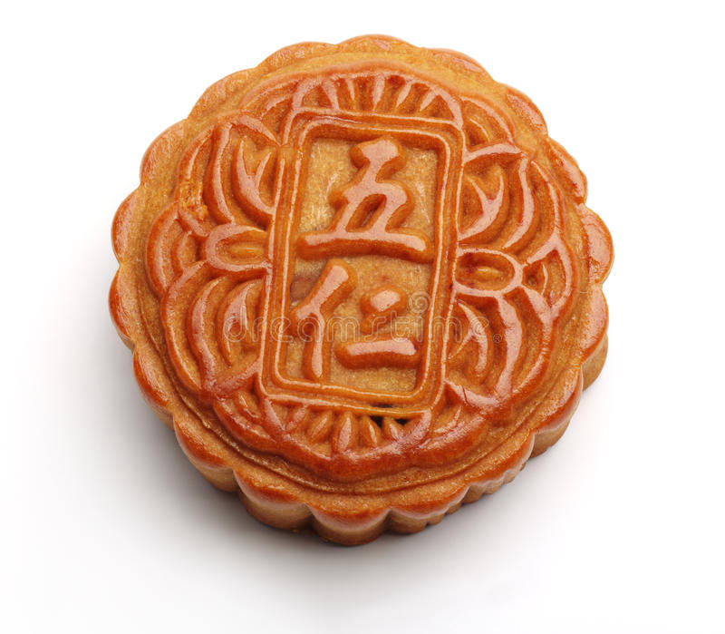 κινεζικό φεγγάρι κέικ στοκ φωτογραφία