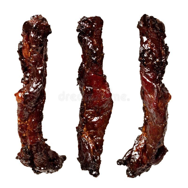 Κινεζικό χοιρινό κρέας ψητού προσροφητικών ανθράκων siew στοκ φωτογραφίες