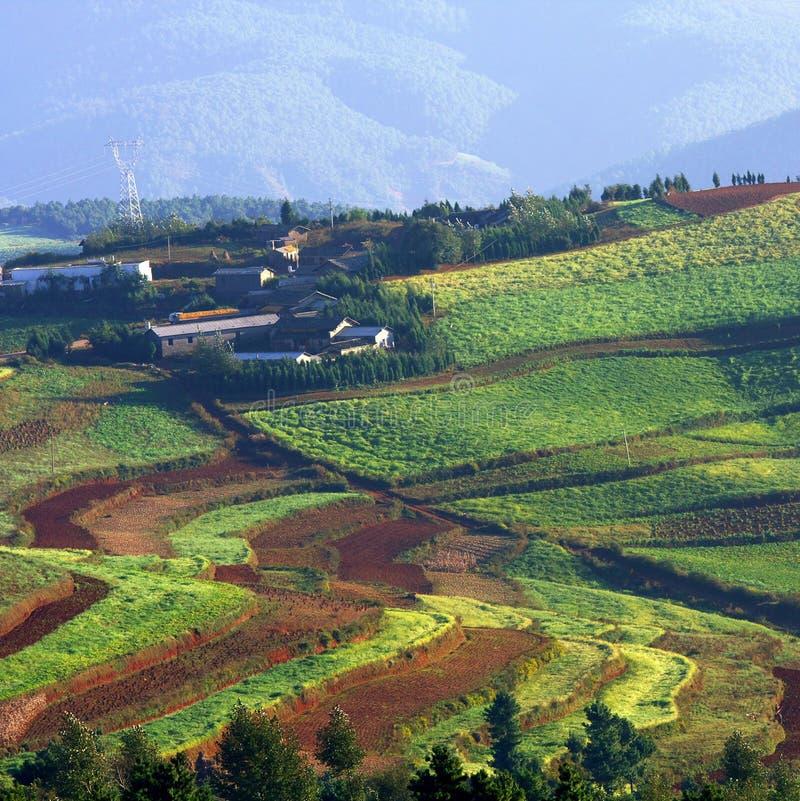 κινεζικό χωριό στοκ φωτογραφίες με δικαίωμα ελεύθερης χρήσης