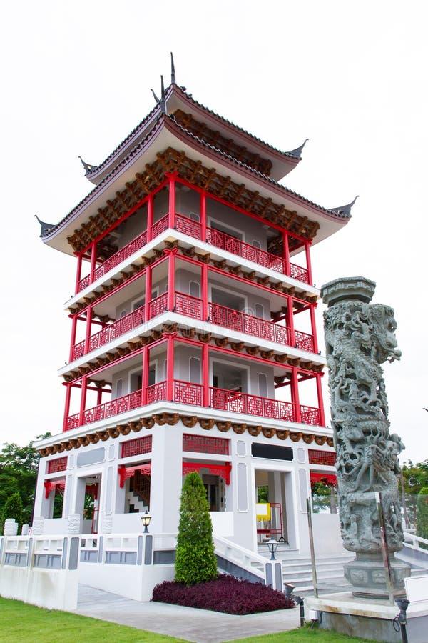Κινεζικό ύφος πύργων παρατηρητήριων στοκ φωτογραφία με δικαίωμα ελεύθερης χρήσης