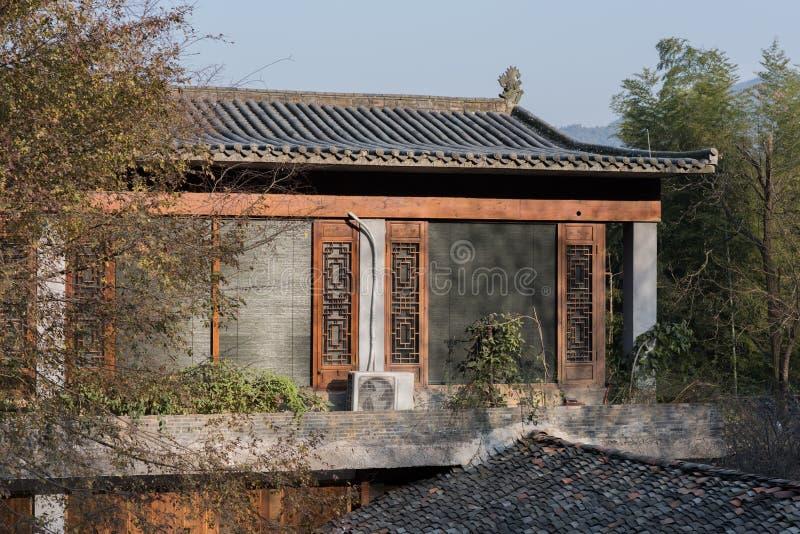 κινεζικό ύφος σπιτιών στοκ εικόνες με δικαίωμα ελεύθερης χρήσης