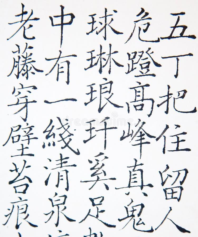 Κινεζικό hieroglyph στοκ φωτογραφία με δικαίωμα ελεύθερης χρήσης