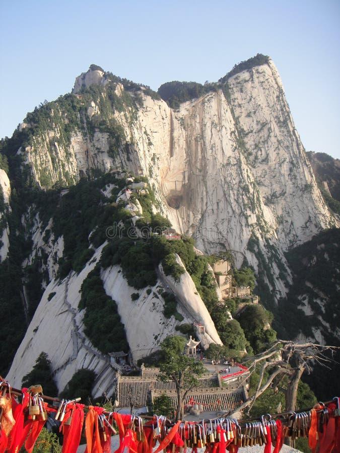 Κινεζικό Huashan, επαρχία Shaanxi στοκ φωτογραφίες με δικαίωμα ελεύθερης χρήσης