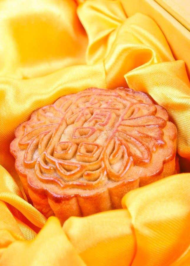 κινεζικό mooncake στοκ εικόνα με δικαίωμα ελεύθερης χρήσης