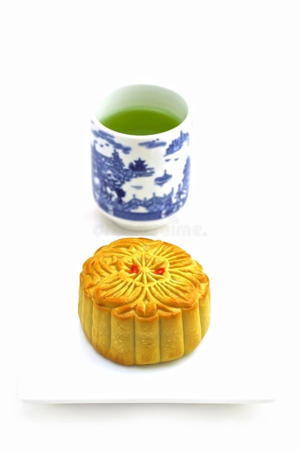 κινεζικό mooncake στοκ φωτογραφίες