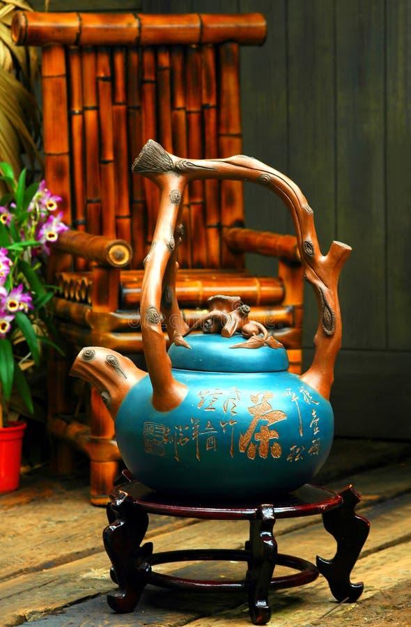 κινεζικό teapot στοκ φωτογραφίες με δικαίωμα ελεύθερης χρήσης