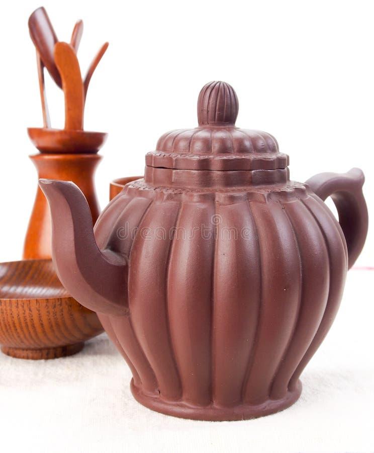 κινεζικό teapot στοκ εικόνες με δικαίωμα ελεύθερης χρήσης