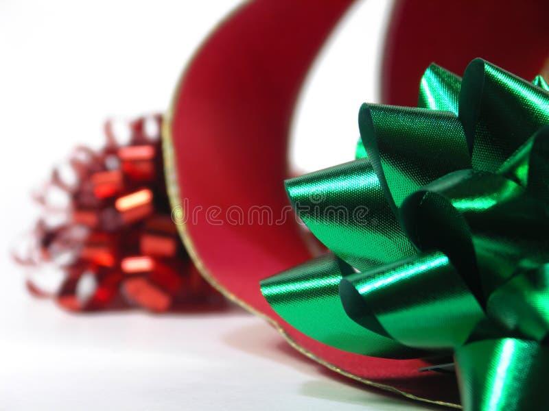 κινηματογράφηση σε πρώτο πλάνο Χριστουγέννων στοκ φωτογραφία